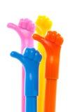 Χέρι με τον αντίχειρα επάνω, όπως το σύμβολο Στοκ φωτογραφία με δικαίωμα ελεύθερης χρήσης