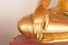 Χέρι μιας αρχαίας εικόνας του Βούδα Στοκ Φωτογραφίες