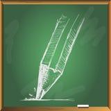 Χέρι μολυβιών που σύρεται Στοκ εικόνες με δικαίωμα ελεύθερης χρήσης