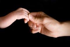 χέρι νεογέννητο Στοκ φωτογραφία με δικαίωμα ελεύθερης χρήσης