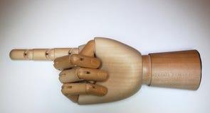 χέρι ξύλινο Στοκ εικόνες με δικαίωμα ελεύθερης χρήσης