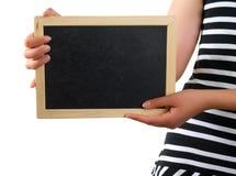 χέρι πινάκων Στοκ εικόνα με δικαίωμα ελεύθερης χρήσης