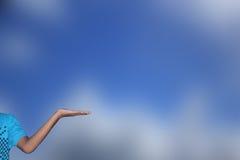χέρι που αφήνεται Στοκ φωτογραφία με δικαίωμα ελεύθερης χρήσης