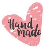 Χέρι - που γίνεται με την καρδιά διανυσματική απεικόνιση
