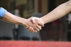 Χέρι που παρουσιάζει χειρονομία, vversion 12 Στοκ εικόνες με δικαίωμα ελεύθερης χρήσης