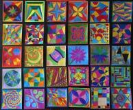 χέρι που χρωματίζεται Στοκ Εικόνες