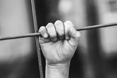 Χέρι προσφύγων Στοκ εικόνες με δικαίωμα ελεύθερης χρήσης