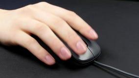 Χέρι προσώπων στο ποντίκι, ο Μαύρος, 2 πακέτο απόθεμα βίντεο