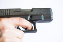 χέρι πυροβόλων όπλων Στοκ φωτογραφία με δικαίωμα ελεύθερης χρήσης