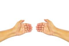 Χέρι σημαδιών Στοκ Εικόνα
