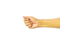 Χέρι σημαδιών Στοκ φωτογραφία με δικαίωμα ελεύθερης χρήσης
