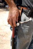 χέρι σφυριών Στοκ φωτογραφίες με δικαίωμα ελεύθερης χρήσης