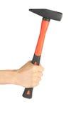 χέρι σφυριών Στοκ εικόνα με δικαίωμα ελεύθερης χρήσης