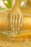 Χέρι της εικόνας του Βούδα Στοκ φωτογραφία με δικαίωμα ελεύθερης χρήσης