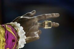 χέρι του Άγιου Βασίλη Στοκ φωτογραφία με δικαίωμα ελεύθερης χρήσης