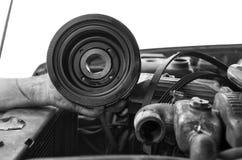 Χέρι του μηχανικού στοκ φωτογραφίες με δικαίωμα ελεύθερης χρήσης