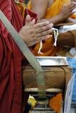 Χέρι του μοναχού Στοκ εικόνα με δικαίωμα ελεύθερης χρήσης