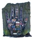 Χέρι τούβλου Στοκ φωτογραφία με δικαίωμα ελεύθερης χρήσης