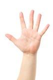 Χέρι των ατόμων σημαδιών χεριών ατόμων Στοκ Εικόνες