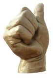 χέρι χαλκού Στοκ φωτογραφίες με δικαίωμα ελεύθερης χρήσης