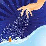 Χέρι (χειμώνας) Στοκ εικόνα με δικαίωμα ελεύθερης χρήσης
