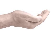 χέρι χειρονομίας φλυτζανιών Στοκ Φωτογραφίες