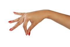 χέρι χειρονομίας Στοκ φωτογραφία με δικαίωμα ελεύθερης χρήσης