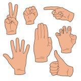 χέρι χειρονομιών Στοκ φωτογραφία με δικαίωμα ελεύθερης χρήσης