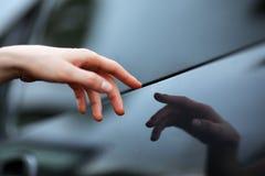 χέρι δημιουργιών Στοκ Φωτογραφία
