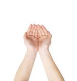 χέρι δύο Στοκ εικόνες με δικαίωμα ελεύθερης χρήσης