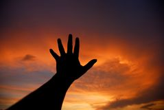 χέρι Στοκ Εικόνες