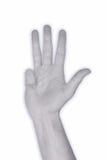 χέρι 4 nr Στοκ φωτογραφία με δικαίωμα ελεύθερης χρήσης