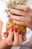 Χέρι care Spa Στοκ φωτογραφία με δικαίωμα ελεύθερης χρήσης