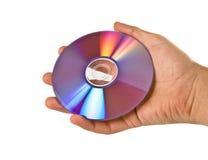 χέρι Compact-$l*Disk Στοκ Εικόνες