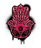 Χέρι 3 Hamsa διανυσματική απεικόνιση