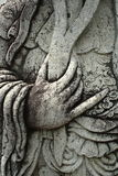 χέρι mustache Στοκ εικόνες με δικαίωμα ελεύθερης χρήσης