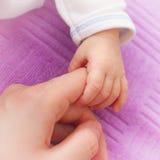 χέρι s μωρών Στοκ εικόνα με δικαίωμα ελεύθερης χρήσης