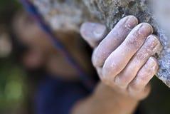 χέρι s ορειβατών Στοκ Εικόνα