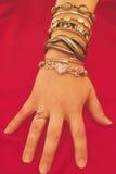 χέρι womans Στοκ Εικόνες