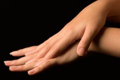 χέρι womans Στοκ εικόνες με δικαίωμα ελεύθερης χρήσης