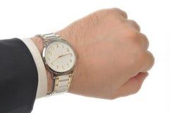 χέρι wristwatch Στοκ Φωτογραφία