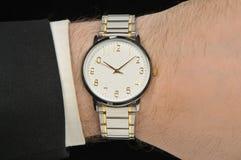 χέρι wristwatch στοκ εικόνες