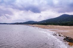 Χίλια παραλία putuoshan Κίνα βημάτων Στοκ Φωτογραφίες