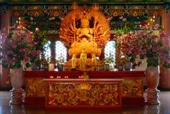 Χίλια χέρια της θεάς του ελέους, Guan Yin Στοκ φωτογραφία με δικαίωμα ελεύθερης χρήσης
