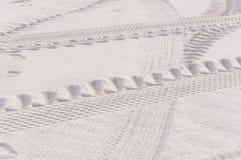 Χίλιες από την άμμο, σύσταση άμμου στοκ εικόνα
