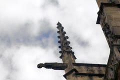 Χίμαιρες, tarask, gargoyles στους μεσαιωνικούς ναούς της Γαλλίας στοκ εικόνες