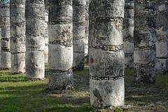 Χίλιες στήλες Στοκ φωτογραφία με δικαίωμα ελεύθερης χρήσης