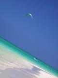 Χαβάη kitesurfer στοκ εικόνα