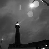 ΧΑΓΗ, ΚΑΤΩ ΧΏΡΕΣ - 18 ΟΚΤΩΒΡΊΟΥ: Το Hoge van IJmuiden Lighthouse IJmuiden, Χάγη, Κάτω Χώρες Στοκ φωτογραφίες με δικαίωμα ελεύθερης χρήσης
