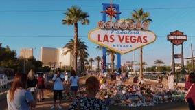 Χαιρετίστε στο Λας Βέγκας το σημάδι μετά από την επίθεση το 2017 τρόμου - ΗΠΑ το 2017 φιλμ μικρού μήκους